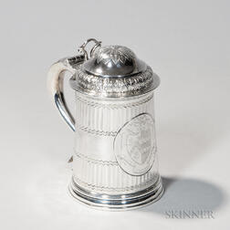Georgian Irish Sterling Silver Tankard