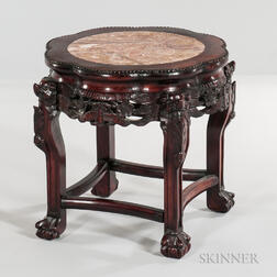 Marble-top Stool