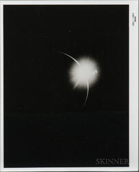 Apollo 12, Eclipse of the Sun by the Earth, November 1969.