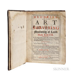 Love, John (fl. circa 1688) Geodaesia: or, the Art of Surveying and Measuring of Land, Made Easie, by Plain and Practical Rules, How to