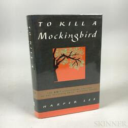 Lee, Harper (1926-2016) To Kill a Mockingbird  , 40th Anniversary Edition, Signed Copy.