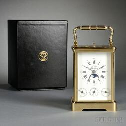 Tourbillion Triple Calendar and Hour Repeating Subscription Carriage Clock
