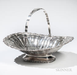 George III Sterling Silver Cake Basket