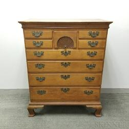 Chippendale Carved Maple Chest of Drawers