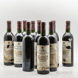 Chateau Prieure Lichine 1978, 12 bottles