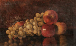 Fall River School, 19th Century      Still Life with Fruit