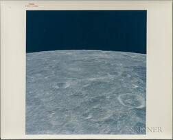 Apollo 12, Three Photographs of the Lunar Surface, November 1969.