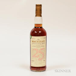 Macallan Anniversary Malt 25 Years Old 1970, 1 750ml bottle