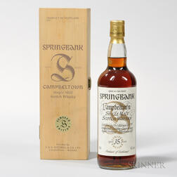 Springbank Limited Edition 35 Years Old, 1 750ml bottle (owc)