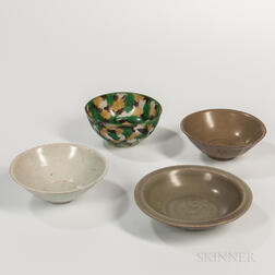 Four Ceramic Items
