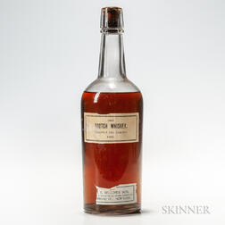 Scotch Whiskey 1885, 1 4/5 quart bottle