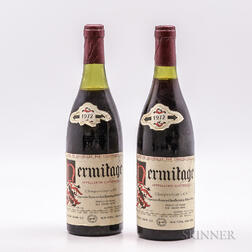 Chapoutier Hermitage 1972, 2 bottles
