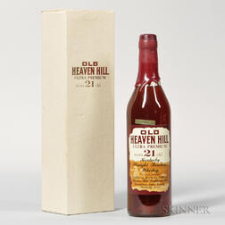 Old Heaven Hill Ultra Premium 21 Years Old, 1 bottle (oc)