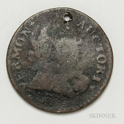 1788 Vermont Copper Mailed Bust Right