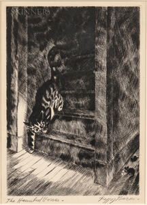 Peggy Bacon (American, 1895-1987)      The Haunted House