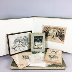 Group of Mostly Currier & Ives Related Material