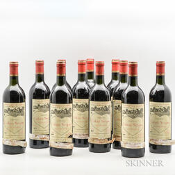 Chateau Calon Segur 1977, 11 bottles
