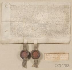 (Early English Deed, Reign of Henry VIII)