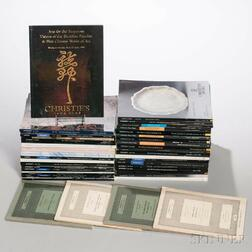Collection of Auction Catalogs