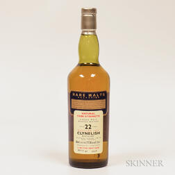 Clynelish 22 Years Old 1972, 1 750ml bottle