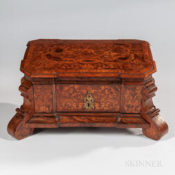 Dutch Walnut Jewelry Box