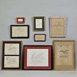 Eight Calligraphy Pictures