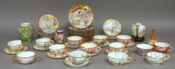 Approximately Forty-six Pieces of Assorted Japanese Porcelain Teaware