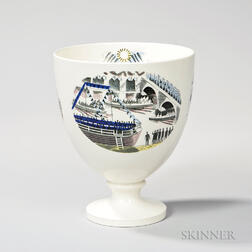 """Wedgwood Eric Ravilious Design """"Boat Race Day"""" Pattern Queen"""