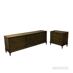 Union National Large Chest of Drawers and Small Chest of Drawers