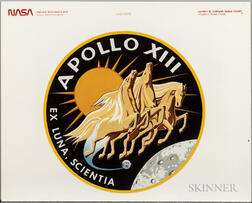 Apollo 13, Images and Ephemera, Three Pieces.