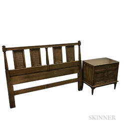 Union National Nightstand, Headboard, and Mirror
