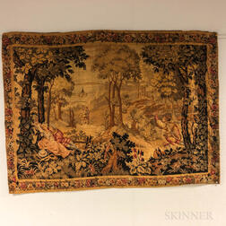 17th Century-style Scenic Tapestry