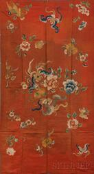 Embroidered Satin Panel