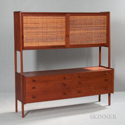 Hans Wegner Sideboard with Overcabinet