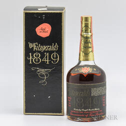 Old Fitzgerald 1849 10 Years Old, 1 1/2 pint bottle (oc)
