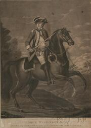 Two Portrait Prints of George Washington