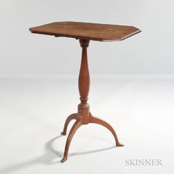 Cherry Tilt-top Candlestand