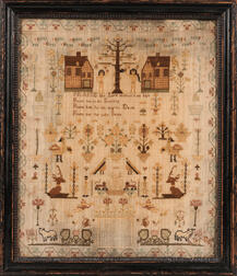 """Ann Jones"" Needlework Sampler"