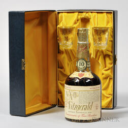 Very Xtra Old Fitzgerald 10 Years Old 1958, 1 4/5 quart bottle (pc)