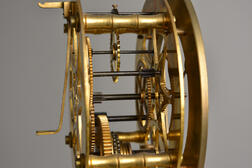 Charles Voisin Pillar Skeleton Clock