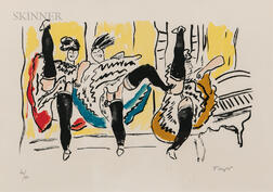 After Fernand Léger (French, 1881-1955)      Moulin Rouge