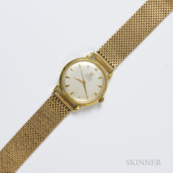 Omega 18kt Gold Men's Wristwatch
