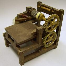 Patent Model for Improvement in Printing Presses