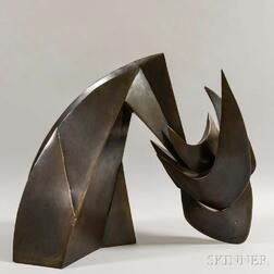 Homer Gunn (American, 1899-1966)      Abstract Horse Head