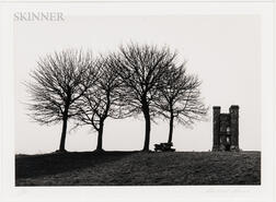 Michael Kenna (British, b. 1953)      Broadway Tower, Worcestershire, England