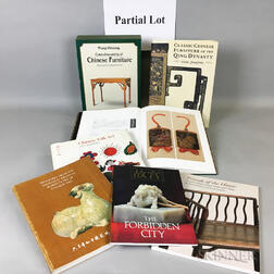Group of Chinese Art Reference Books and Dealers' Catalogs