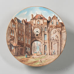 China Plate Wall Clock