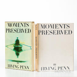Penn, Irving (1917-2009) Moments Preserved. Eight Essays in Photographs and Words