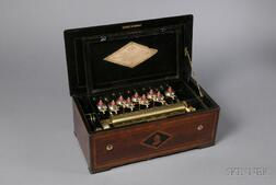 Timbres en Vue Cylinder Musical Box with American Tune