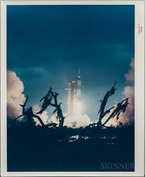 Apollo 14, Liftoff, January 31, 1971.